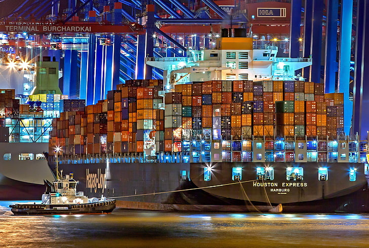 port-night-the-ship-a-container-ship-wallpaper-preview